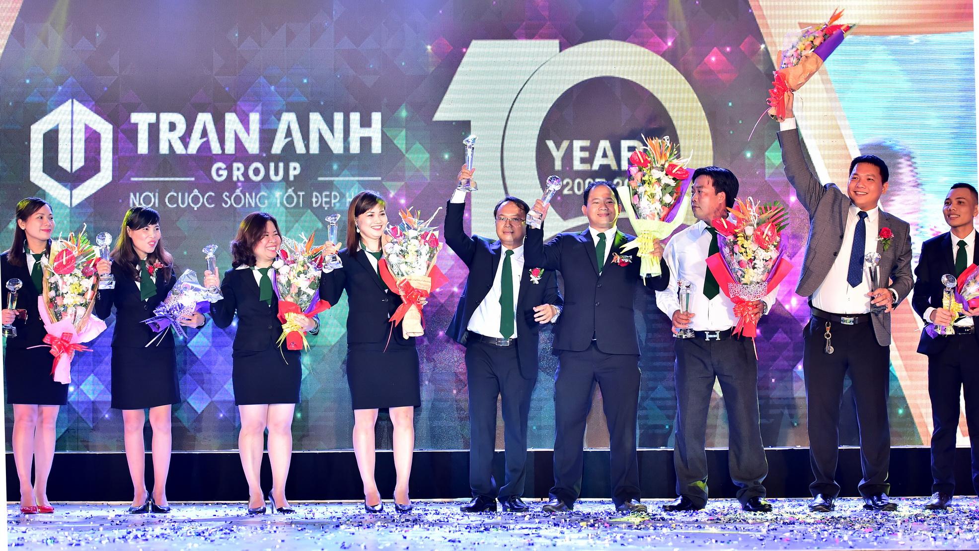 10 năm xây dựng và phát triển Công ty CP Bất động sản Trần Anh Long An