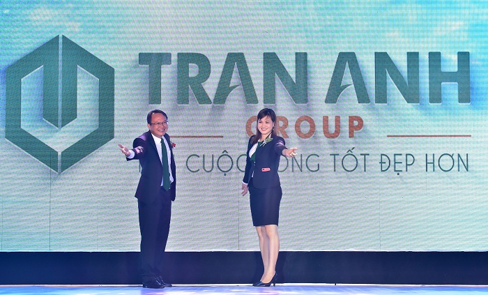 Trần Anh Long An công bố thương hiệu mới Trần Anh Group